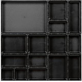Ordnungssystem 16-teilig Abm. Matte BxT 576x576mm