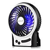 Best Camping Fans - OPOLAR F201 Portable Rechargeable Fan, Mini USB fan Review