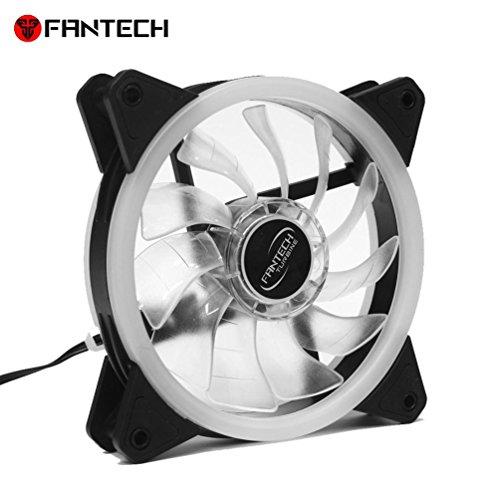Fantech RGB Kühlung Fans für DIY PC Schutzhülle, fc-123PC Desktop-Tower Computer Lüfter Fall Silent 4Pin PWM Lüfter 120mm Einheit Colorful LED-Lichter - Konsole-einheit 360 Xbox