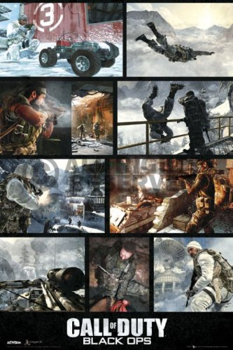 REINDERS Call of Duty black ops - screenshots - Poster 61 x 91,5 cm