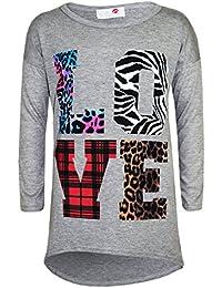 A2Z 4 Kids® Girls Comic Graffiti Floral PLain Leopard Print Stylish Fashion Leggings