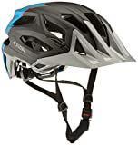 Alpina Garbanzo Fahrradhelm, Blue/Black/Red, 52-57