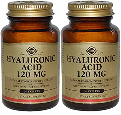 Solgar Hyaluronic Acid 120mg 30 Tablets (60 Tablets)