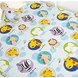 PENVEAT Baby Bettwäsche Baumwolle Kinder Kinder Bettwäsche für Baby Bett Neugeborenen Jungen Mädchen Bettlaken große kleine Bettwäsche 130 * 90CM, Farbe 4