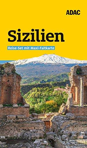 ADAC Reiseführer plus Sizilien: Das ADAC Reise-Set mit Maxi-Faltkarte zum Herausnehmen