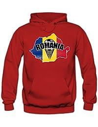 Rumänien EM 2016 #1 Hoody | Fußball | Herren | Trikot | Nationalmannschaft © Shirt Happenz