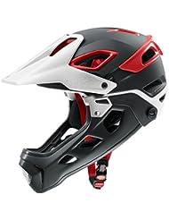 Uvex Jakkyl Hde MTB Fahrrad Helm schwarz/rot 2018