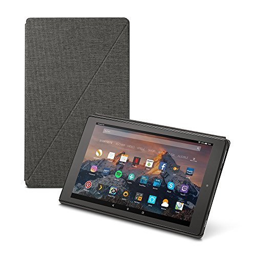 Amazon Fire HD 10-Hülle (10-Zoll-Tablet, 7. Generation - 2017), Dunkelgrau - 30 Display-taste