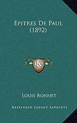 Epitres de Paul (1892)