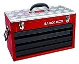 Bahco 1483KHD4RB - Caja Metálica 4 Cajones Con Bandeja Superior Reforzada