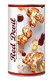 Gourmet Popcorn zum Selber-Backen, scharf süßes Popcorn, mit Chilies und Ingwer Raffinierte Geschenk-Idee, frisch-duftend, auch als Party-Snack Red Devil Corn von Feuer & Glas 431g