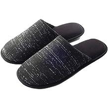 COSMOZ Zapatillas de Estar por casa Antideslizante con diseño de Punto para Hombres y Mujeres con