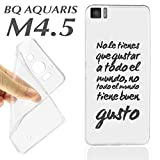 Case Housing + Glass Screen Protector (Optional) BQ Aquaris