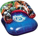 Marvel, Avengers 88782-S Strandsitz, aufblasbar, PVC, Blau, Einheitsgröße