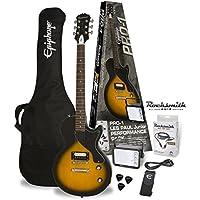 Packs guitare EPIPHONE PRO-1 LES PAUL JUNIOR VINTAGE SUNBURST PACK (ROCKSMITH) Packs guitare électrique