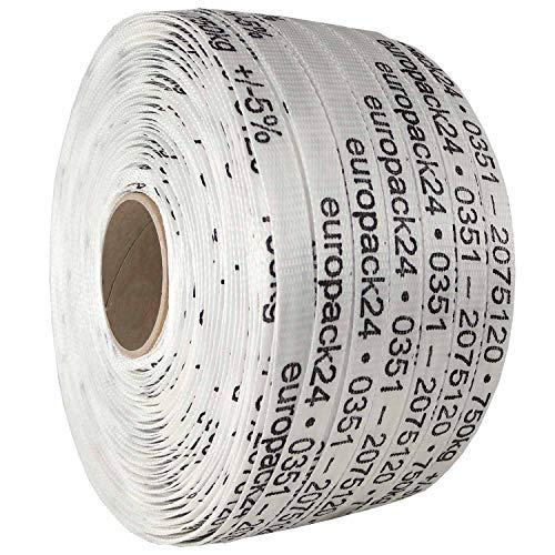 19mm PES Textilband ✔ 750kg Bruchlast ✔ 500m ✔ Umreifungsband -