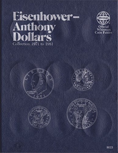 UPC 9 780307 09023 EISENHOWER ANTHONY DOLLAR 1971-1981 Whitman 9023 ALBUM #17 by WHITMAN (1971 Einen Dollar)