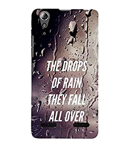 Vizagbeats Quotation Back Case Cover for Lenovo A6000