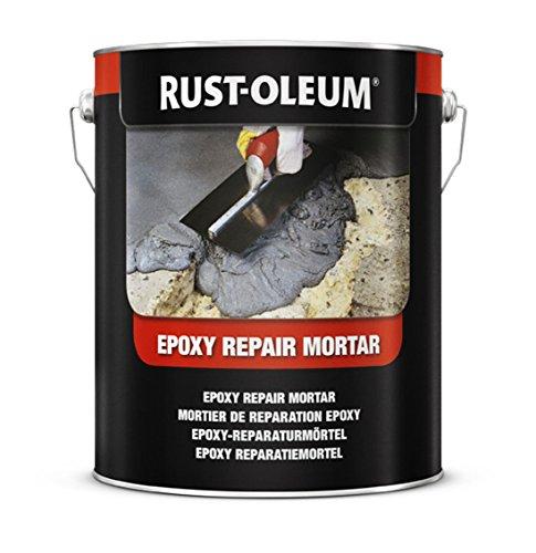 Rust-Oleum 5180.2.5Epoxy Reparatur mörtel, 2x stärker als Beton, dunkelgrau (Epoxy Beton)