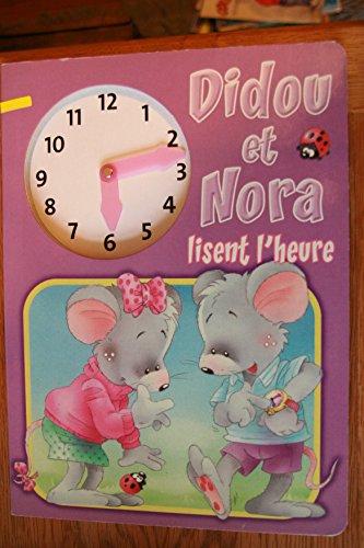 Didou et Nora lisent l'heure