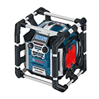 Bosch Professional GML 50 PowerBox Corded 240 V Jobsite Radio and Charger - Carton