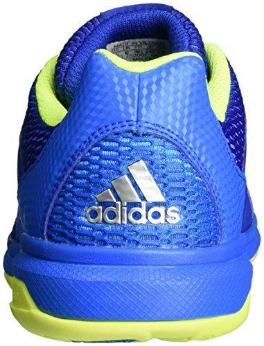 adidas Herren Multido Essence Handballschuhe Blau (Collegiate Royal/Silver Metallic/Shock Blue)