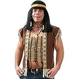 Fasching Karneval Indianer Brustkette Kette Indianer-Schmuck