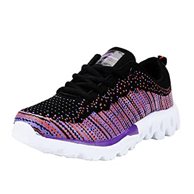 Vostro VSS0016-RORY-Purple Sport Shoes for Women Size - 6 UK