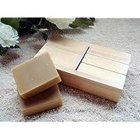 """Bayee Wooden Soap Mold Beveler / Planer Soap DIY Handwork Tool(7.5"""" x 4.25"""" x 1.85"""")"""