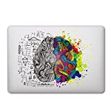 Macbook Autocollant, Caroki New Art amovible décalque de vinyle autocollant peau pour Apple macbook Air 13' Pro 13'