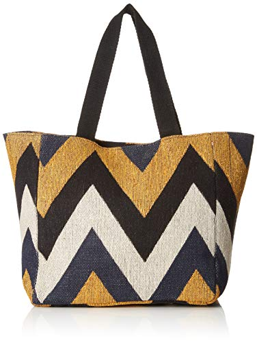 PIECES Damen Pccadence Canvas Shopper Schultertasche, Blau (Navy Blazer), 19,5x53x33 cm
