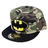 DC Comics Batman Herren Snapback Cap - Military Camouflage Baseball Cap