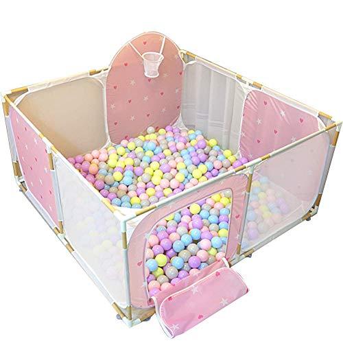 Z-SEAT 8 Panel-Babyplaypen, Twins Spielsaal Sicherheit Spiel Zaun, Kinder Activity Center, 150X150x65CM -