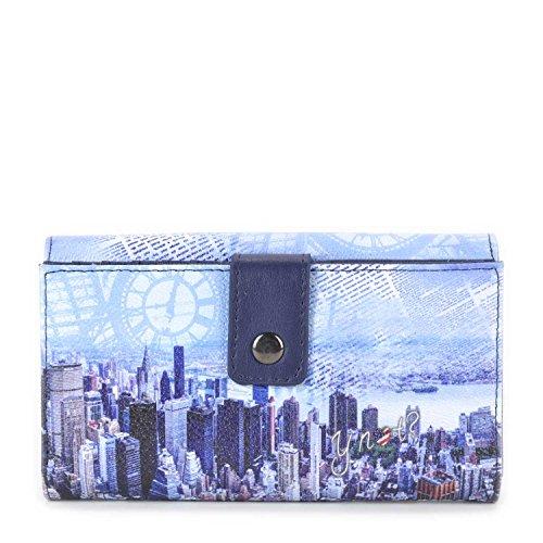 Portafoglio donna Y Not - H347 Blue Manhattan