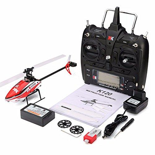 Lanlan giocattolo elettrico per bambini ragazzi modellino rc elicottero 6g sistema ricaricabile, rtf