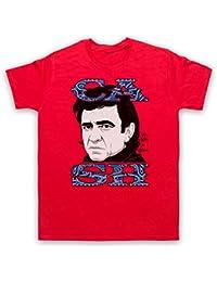 Johnny Cash The Man In Black T-Shirt des Hommes