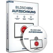 FRANZIS Bildschirmaufzeichnung Software|2018|3 Geräte|-|Für Videos, Musik und Webinare auf dem Windows PC|Disc|Disc
