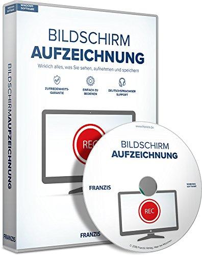 fzeichnung Software|2018|3 Geräte|-|Für Videos, Musik und Webinare auf dem Windows PC|Disc|Disc (Auf Dem Bildschirm-recorder)