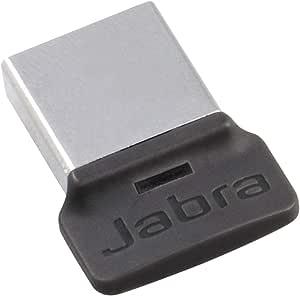 Jabra Link 370 Usb A Bluetooth Adapter Uc For Jabra Headsets 30 Metre Wireless Range Optimised For Unified Communications Black Elektronik