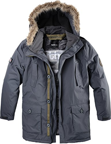 All size north 56°4 giaccone parka taglie forti