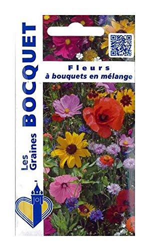 Les Graines Bocquet - Graines De Fleurs À Bouquets En Mélange - Graines Potagères À Semer - Sachet De 3Grammes