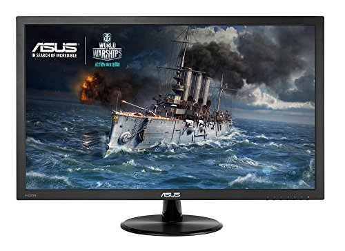 ASUS VP278H 27 inch FHD 1920 x 1080 Gaming Monitor 1 ms HDMI D Sub Low Blue lighting Flicker Free TUV Certified Products
