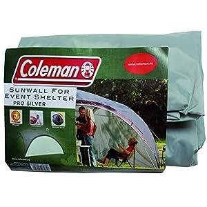 Seitenwand für Coleman Event Shelter Pro XL 4,5 x 4,5 m, 1 Pavillon Seitenteil, Seitenplane, dient auch als Sonnenschutz, wasserabweisend, grau