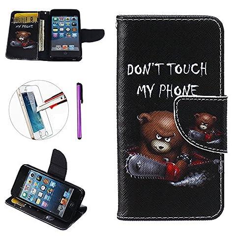 Coque pour IPod Touch 5, iPod touch 5, iPod touch, 6, iPod Touch, 6, newstars (Owl Clip Di Carta)