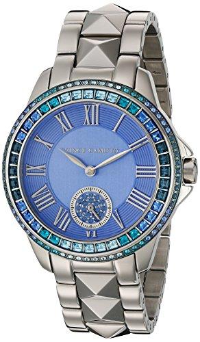 Vince Camuto Femme VC/5160lbsv Cristal Swarovski Accentuée Argenté Bracelet de montre