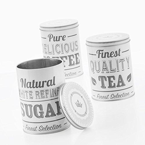 Wagon Trend Kaffeedose/Vorratsdose für Kaffeebohnen, Kaffeepulver, Zucker, Tee, Kakao – Vintage...