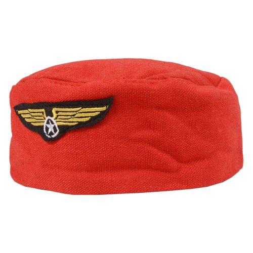 für Erwachsene, Stewardess Stewardess Fancy Dress Hat ()