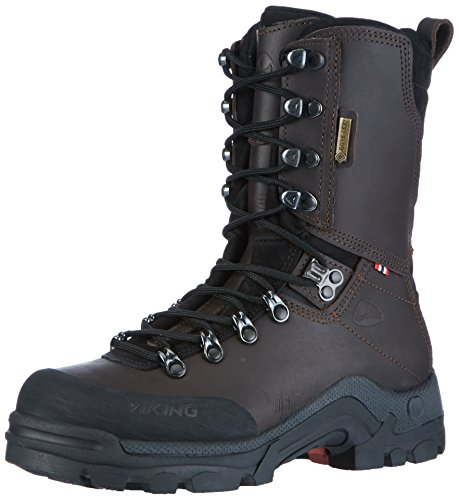 Viking Hunter GTX, Stivali da Caccia Unisex-Adulto Marrone (Dark Brown) 42 EU
