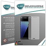 4 x Slabo Bildschirmschutzfolie für Samsung Galaxy Note 7 Bildschirmfolie Schutzfolie Folie Zubehör (verkleinerte Folien, aufgr& Wölbung des Bildschirms)