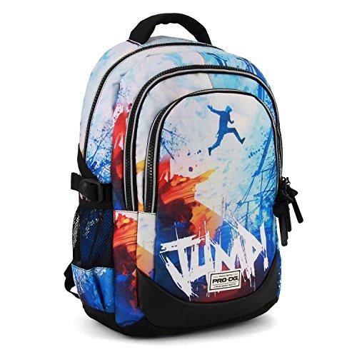 PRODG PRODG Jump-Running HS Backpack Rucksack, 44 cm, 21 liters, Blau (Blue)